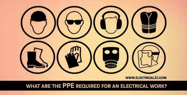 electrical ppe, electrical ppe requirements